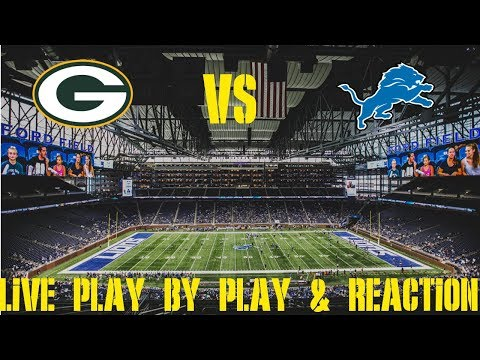Packers Vs Lions Live Play By Play & Reaction