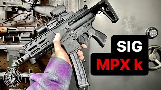 SIG MPX K in 1 Minute #Shorts
