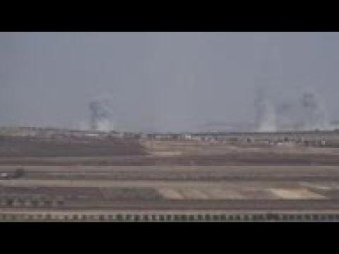 Syria troops reach