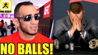 Tony Ferguson slams Conor McGregor for wanting to fight RDA after Dustin Poirier,Felder on his loss