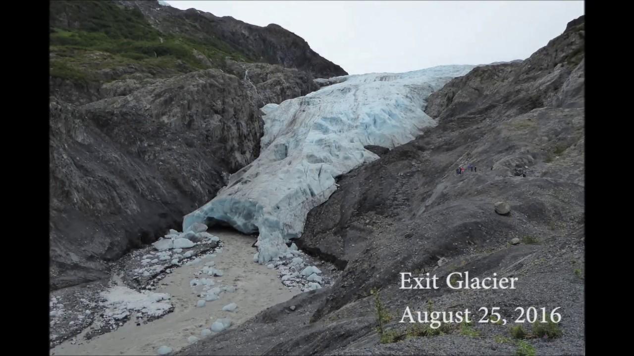 exit glacier 5 year dissolve 2011 2016 youtube