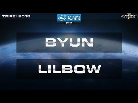 StarCraft 2 - Byun vs. Lilbow (ZvP) - IEM Taipei 2016 - Quarter Final