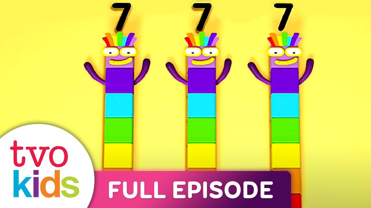 Numberblocks - Twenty-one and On - Full Episode