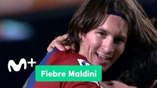 Fiebre Maldini: El primer hat-trick de Messi   Movistar+