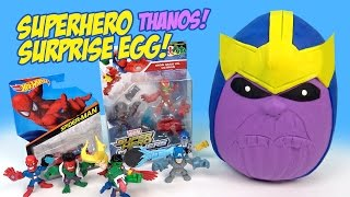 Superhero Play-Doh Surprise Egg with Marvel Avengers Toys and Kinder Surprise Egg REPOST by KIDCITY