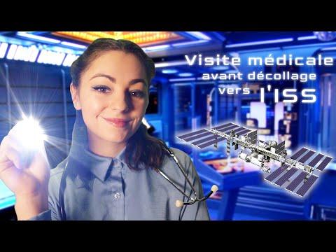 🚀 ASMR  - Visite médicale avant décollage vers l'ISS 🚀