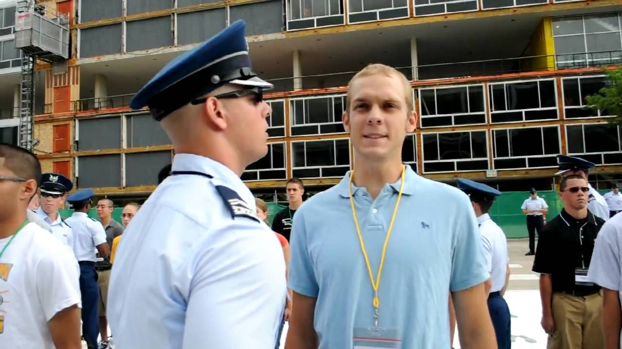 Where do i stand with the Air Force Academy?