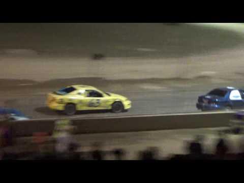 Flinn Stock Feature Race at Crystal Motor Speedway, Michigan on 06-25-16.
