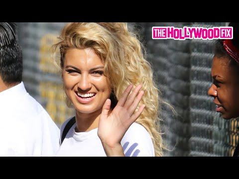 Tori Kelly Arriving To Jimmy Kimmel Live! 7.20.15 - TheHollywoodFix.com