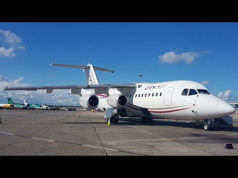 TRIP REPORT   CityJet (ECONOMY)   Avro RJ85   London City - Dublin