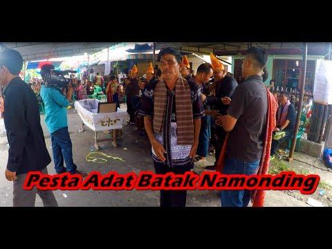 Pesta Adat Batak Namonding (Menyalami Keluarga) | Musik Taganing