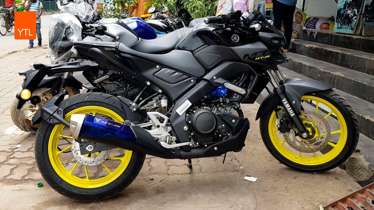 New Yamaha MT-15 155cc ABS 2021 - Elegant 3 Colors Review | Black | white | Blue |