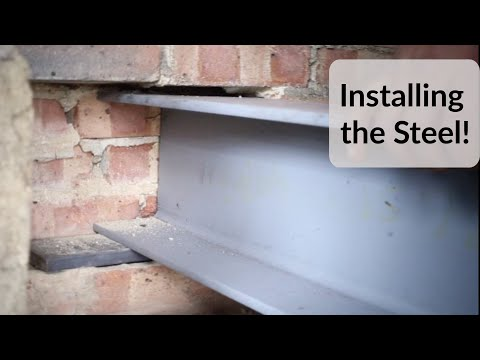 How To Install A Steel Beam In A Loft