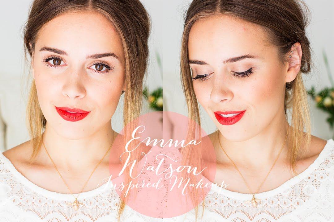 Emma Watson Inspired Makeup | Hello October - YouTube  Emma Watson Ins...
