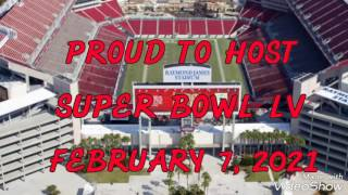 SUPER BOWL LV (55) coming to Raymond James Stadium on February 7, 2021