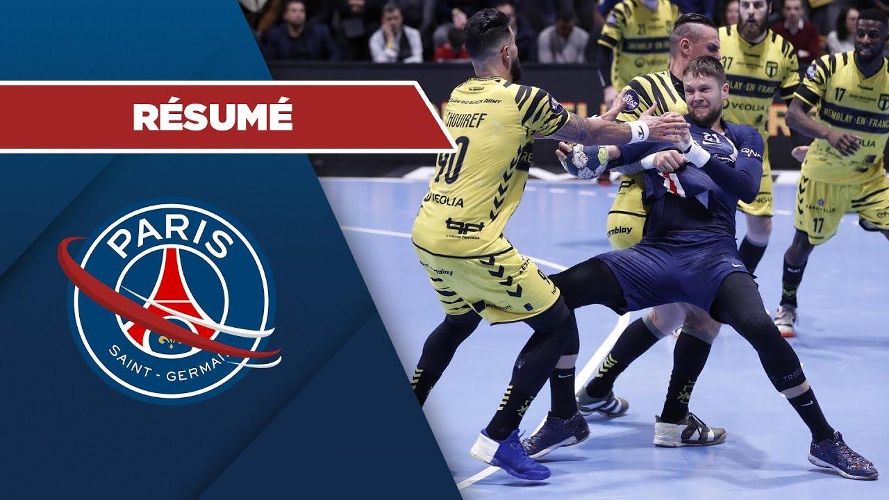 le r u00e9sum u00e9   tremblay - psg handball