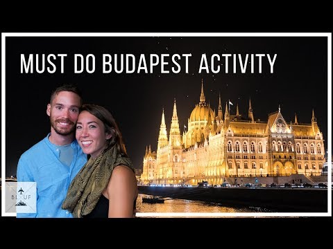 Budapest River Cruise at Night on the Danube