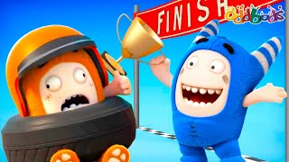 Oddbods | NEW | ZOOM! THERE THEY GO! | Funny Cartoons For Kids