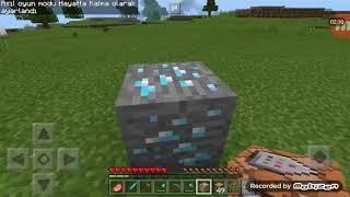 Minecraft sınırsız elmas kaynağı