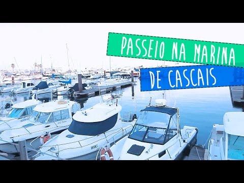 PASSEIO NA MARINA DE CASCAIS PORTUGAL - DIA A DIA | Hoje tô Aqui