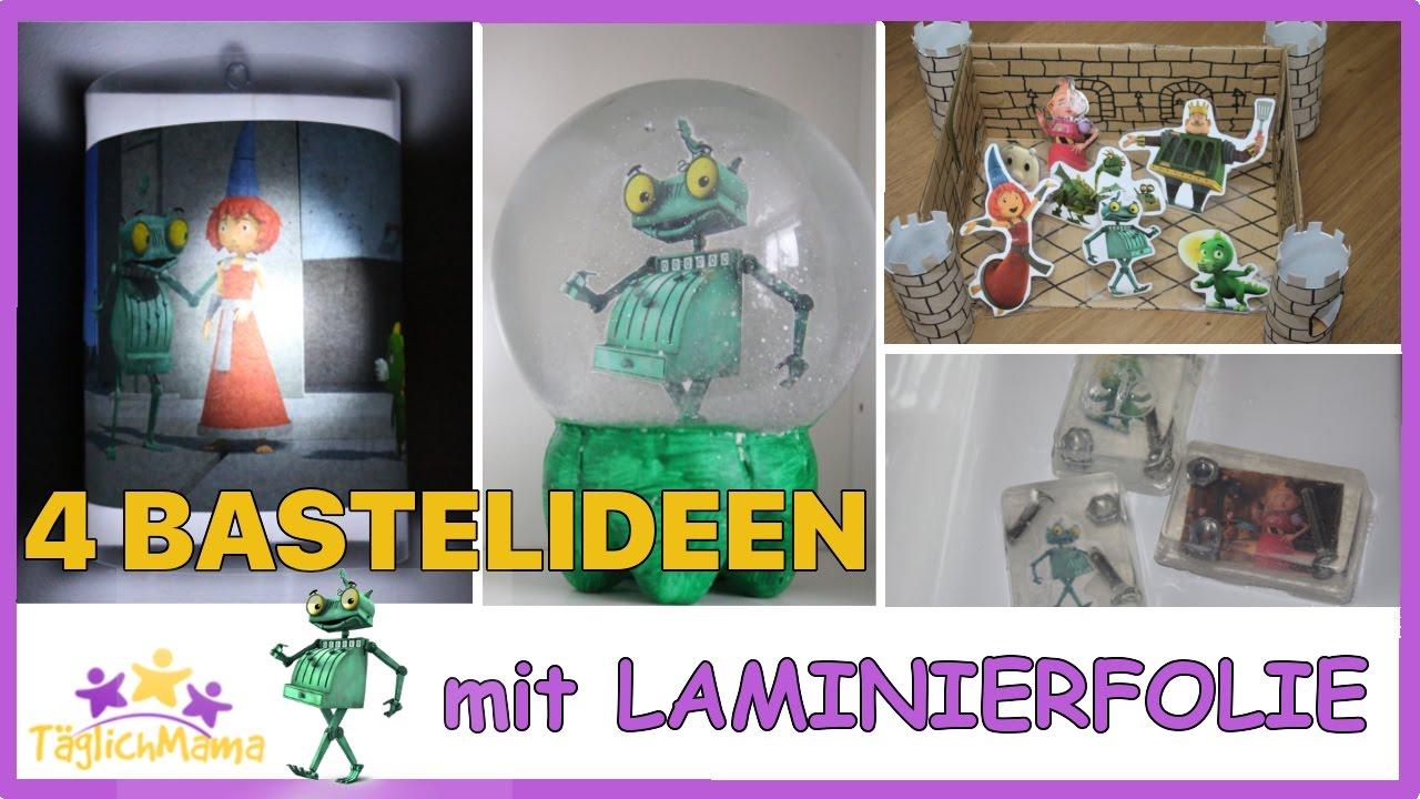 4 Bastelideen Mit Laminierfole Ritter Rost2 Das Schrottkomplott