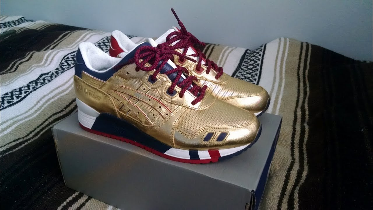 asics gel lyte 3 gold