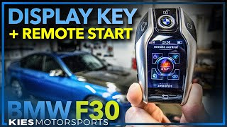BMW F30 335 DISPLAY KEY with REMOTE START (works in E, F, and G Series!) #coolestf30mod #F30BMWMods