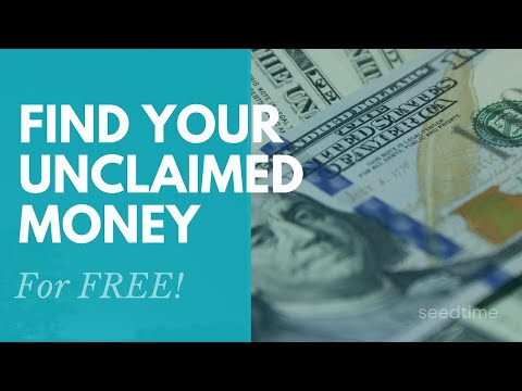 How to find unclaimed money (for FREE)