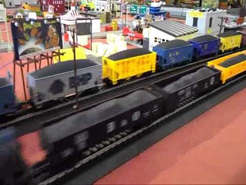 TYCO US-1 Trucking with auto train grade crossing #2