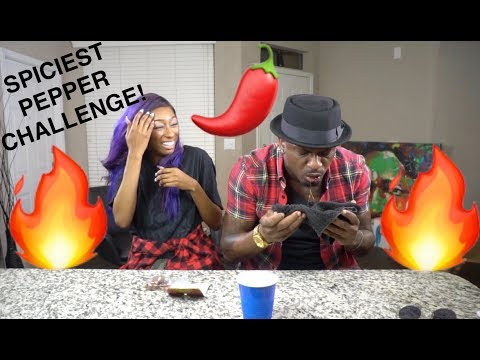 WORLDS SPICIEST PEPPER CHALLENGE!!!!