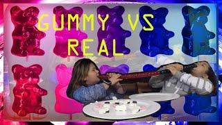 GUMMY VS REAL