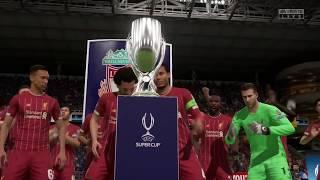 Liverpool UEFA Super Cup 2019 Celebration - FIFA20