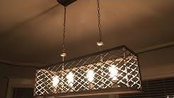 Home Depot Edison 4 Light Fixture Chandelier Wallace Manor