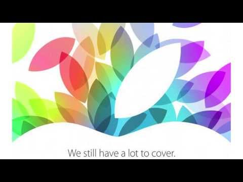 Apple : Keynote le 22 Octobre - iPad 5 et iPad mini 2 Retina