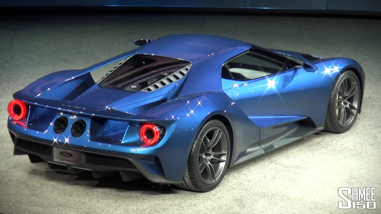 new ford gt twin turbo v6 revealed at naias 2015 youtube. Black Bedroom Furniture Sets. Home Design Ideas