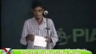 Mazahiya Mushaira Mukhtar Yusafi Funny Poetry HallaGulla Com