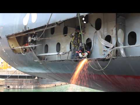 MEC Shipyards - Emergency Repairs MV Mariner