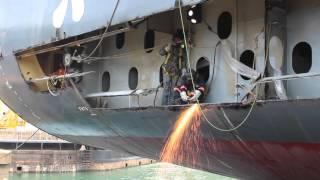 MEC Shipyards - Emergency Repairs MV Mariner