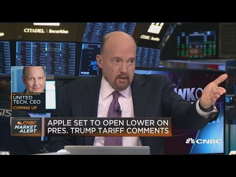 Trump's tariff comments are not good for business, says Jim Cramer