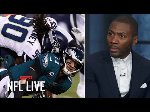 Jadeveon Clowney's Hit On Carson Wentz Was Not Dirty In Seahawks Vs. Eagles | NFL On ESPN