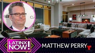 Este es el penthouse millonario de Matthew Perry | Latinx Now! | Telemundo Entretenimiento