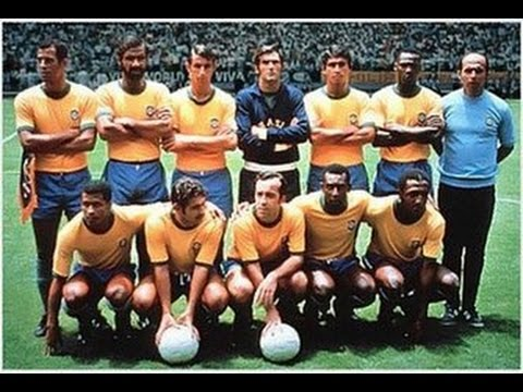 Football's Greatest International Teams .. Brazil 1970