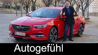Opel Insignia Grand Sport FULL REVIEW Vauxhall + sneak preview Sports Tourer Insignia B