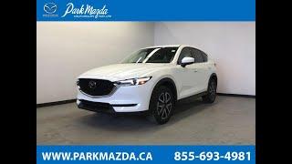 SNOW FLAKE WHITE PEARL(25D) 2018 Mazda CX-5 GT Review Sherwood Park Alberta - Park Mazda