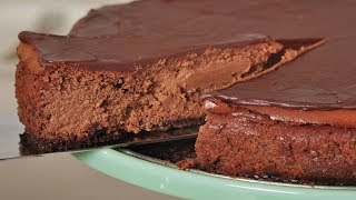 Chocolate Cheesecake Recipe Demonstration - Joyofbaking.com