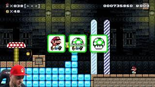 Super Mario Maker: 100 жизней Марио... в спидране