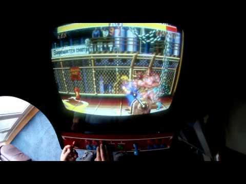 fighter 2 hyper fighting arcade machine