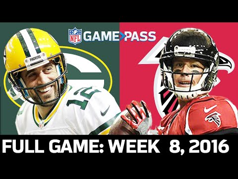 Green Bay Packers Vs. Atlanta Falcons Week 8, 2016 FULL Game