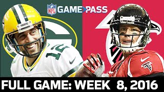 Green Bay Packers vs. Atlanta Falcons Week 8, 2016 FULL Game