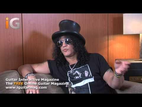 Slash - Practicing The Guitar - Interview 2012 - Guitar Interactive Magazine